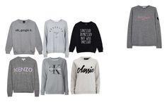 """bluzy"" by ada-raj on Polyvore featuring moda, Topshop, Calvin Klein Jeans, Bella Freud, Kenzo i MINKPINK"