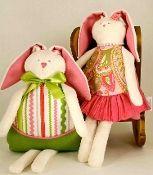 Woof n Poof Easter Bean Bag, Spring Girl, Watermelon, Boy Rick Rack