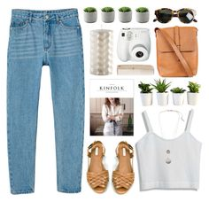 Untitled #117 by purikura on Polyvore featuring Monki, Zara, Barbour, Bougies La Française, HAY, Kenneth Cole, Karen Walker and Polaroid