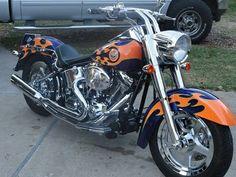 2004 Harley Davidson Fatboy Factory Custom paint job (#80 of 200) 115+ Horsepower