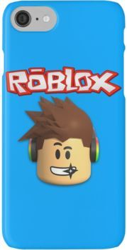 Roblox Character Head iPhone 7 Cases