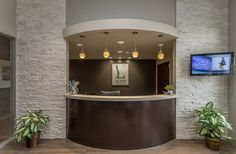 , Check out our portfolio of custom chiropractic office designs for inspiration on. , Check out our portfolio of custom chiropractic office designs for inspiration on your office remodeling project! Commercial Office Design, Dental Office Design, Office Interior Design, Office Interiors, Office Designs, Dental Offices, Design Offices, Modern Offices, Office Ideas