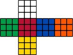 Imagini pentru scrambled rubik's cube faces to cut them