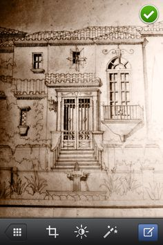 Entry study for a Spanish Colonial home in Scottsdale. www.candelariadesign.com