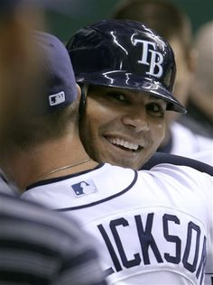 Carlos Pena Hit his 1000th hit of his career...and it was a HOMERUN! 04/24/12 vs Angels