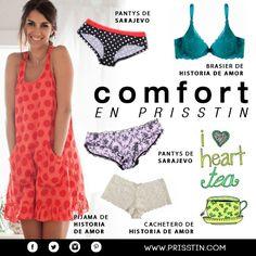 COMFORT: Tejidos suaves en prendas que te dan máxima comodidad.