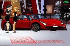 Une Ferrari 458 Italia au Mondial! REDUX by daanton on DeviantArt #lamborghini Ferrari 458, White Lamborghini, Lamborghini Gallardo, Ferrari Mondial, Car Vector, Exotic Sports Cars, Bugatti Veyron, Deviantart, Sport Cars