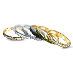 Bagues Agua de Oro Bagan, Bangles, Bracelets, Marie, Wedding Rings, Engagement Rings, Jewelry, Collection, Fashion