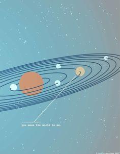 """""""Diante da vastidão do espaço e da imensidão do tempo é uma alegria, uma honra e um milagre poder estar exatamente aqui neste lugar e neste segundo dividindo o planeta com você."""" Parafraseando Carl Sagan"""