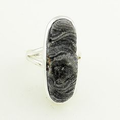Agate Drusy Sterling Silver Ring - keja jewelry