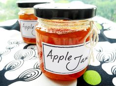 Smack.Lips Delectable Apple Jam. Available for order soon @ Smack.Lips ~ Spreads & Such