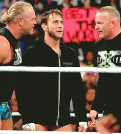 It was all smiles until the New Age Outlaws turned their backs on Punk