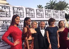 Katrina's RED hot look at Cannes 2015.