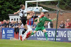 Third Notts County Goal by Alex Rodman, Ilkeston vs Notts County Copyright B&O Press Photo.