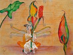 Flower Song by Amy Tuso in the FASO Daily Art Show