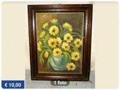 Mijn budget interieur: 'floral wall' in wording #marktplaats #bloemenschilderij #thedevilwearswibra