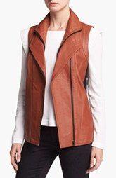 Mural Leather Vest