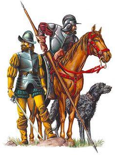 """La Pintura y la Guerra """"Conquistadores"""""""