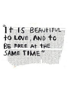 Loved & free