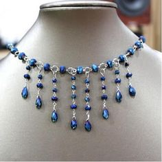 How to make Family Jewels Necklace - #wire #Jewelry #Tutorial