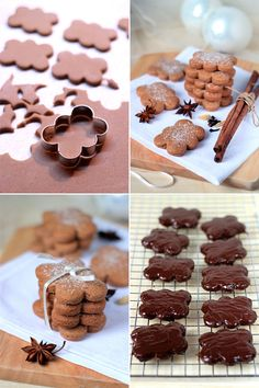 katarzynki Gingerbread Cookies, Food And Drink, Cooking Recipes, Place Card Holders, Breakfast, Cake, Baking Ideas, Deserts, Yule Log