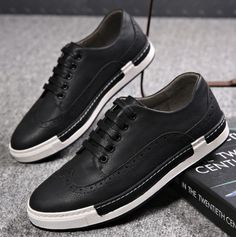 2c7b68670f74 Buy 2016 Men s Sport Shoes Youth Fashion Leather Leisure Shoes New Year s  Day at Wish - Shopping Made Fun
