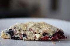 Nutmeg Nanny » Mixed Berry White Chocolate Scones and Submit ATTYC Recipes :)