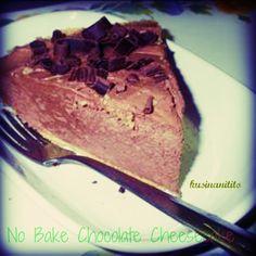 Kusina ni Tito: NO BAKE Chocolate Cheescake