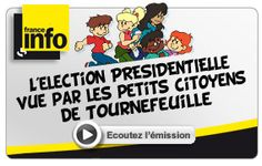"Les petits citoyens:  News in French for children. (Thank goodness--a way to hold students accountable for current events without needing a massive list of ""words you might not know""!"