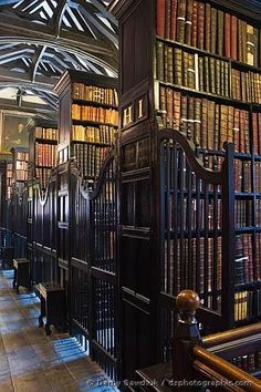 England Travel Inspiration - Chetham Library, Manchester, England, is the oldest Library in the English speaking world founded in 1653 by Humphrey Chetham to 'Cure poverty by curing ignorance'