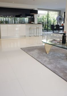 Tile Flooring Kitchen Glass Countertops White Awesome Porcelain Ideas Top 12 What Do You Think Of This Kitchens Idea I Got From Beaumont Tiles Check