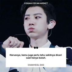 Korea Quotes, Exo Songs, Quotations, Qoutes, Mood Quotes, Chanyeol, Daily Exo, Fangirl, Funny Memes