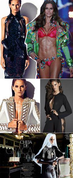 Modelo brasileira Izabel Goulart