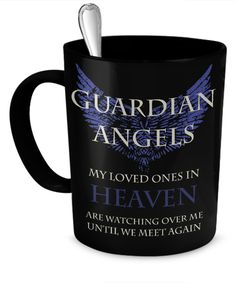 Guardian Angels Mug Blue