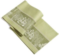 Design Imports Herb Garden Jacquard Table Runner by DII. $15.95. Includes one herb garden jacquard table runner. 100% Cotton. Brings the essence of herbs into your home decor. See all of design imports herb garden collection products, and all dii kitchen and giftware. Machine Wash and Dry. 100% cotton. DII's Herb Garden Jacquard table runner brings the essence of herbs into your home decor. Features detailed herbs jacquard on Sage green background.