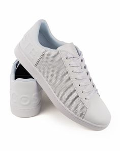 LACOSTE © White Trainers Carnaby Evo leather | BEST PRICE Lacoste Trainers, Lacoste Shoes, Online Shopping Shoes, Shoes Online, Credit Card Transfer, Leather, Shopping, Clothing