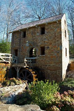 Old Mill (as seen in Gone With the Wind) . North Little Rock, Arkansas.