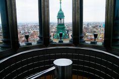 Vista de Zaragoza, desde la torre del Pilar
