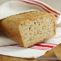 When I started eating gluten-free, bread and pasta were my main concerns. I've already posted my homemade gluten-free, whole grain pasta recipe so it's really time I share my bread with you, as well. 🙂 I eat not only gluten- and dairy free, but also have to keep track of my carb intake on a...Read More »