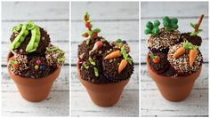 """These Veggie Brownies via Simply Create bring """"eating your vegetables"""" to a whole new level."""