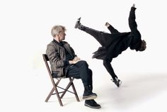An unexpected encounter: Baryshnikov and Lil Buck for Rag & Bone | in the studio
