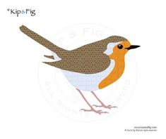 Items similar to Robin applique template - PDF applique pattern on Etsy Bird Template, Applique Templates, Applique Patterns, Applique Designs, Quilt Patterns, Owl Templates, Crown Template, Heart Template, Butterfly Template