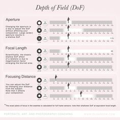 How do you control the depth of field (DoF)? Here are the three factors: aperture, focal length and distance to your subject