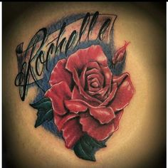A cool rose performed by Mike Scarlett. ..  #roses #rosetattoo #florist #orlandotattoos #orlandoweekly #orlando #florida #orlandobloom #tattoo #exciting #customtattoo #eternalink #goodtattoo