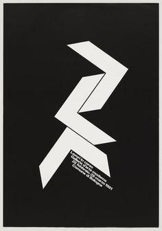 A. G. Fronzoni. Lavori in Corso, Galleria d'Arte Moderna, Bologna. 1981
