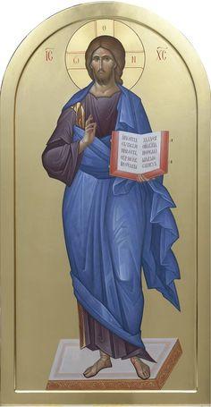 God and Jesus Christ Images Of Christ, Religious Images, Religious Icons, Religious Art, Byzantine Icons, Byzantine Art, Christ Is Risen, Jesus Christ, Christ Pantocrator