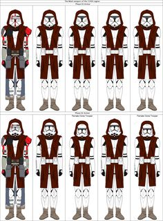 The Mud troopers of the Legion Star Wars Rpg, Star Wars Clone Wars, Lego Star Wars, Star Wars Concept Art, Star Wars Fan Art, Funny Star Wars Pictures, Guerra Dos Clones, Star Wars Timeline, Star Wars Facts