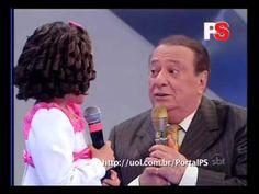 Raul Gil se emociona com Maisa no SBT