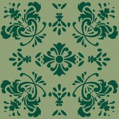Romantic Flower - Green mixed - Full Coverage. Price 6,5 € Romantisk Blomst - Grøn mønstermix - Heldækkende folie. Pris 45 dkk.