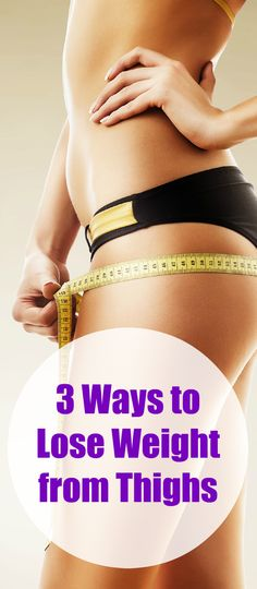 how to lose weight between thighs